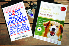 Positive Icon - Whole Dog Journal Article - Karen Pryor wrote the book that revolutionized training, and continues to advance the art and science of dog-friendly training. Article includes a great interview with Karen & and many different training theories!