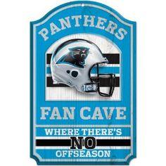 b5e02b6eb Carolina Panthers Fan Cave sign Sports Fan Shop