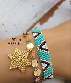 Mavi&Gold •. Bilgi almak için Dmulaşabilirsiniz ‍ - - - - - - #miyuki #bileklik #bracelet #handmade #jewelry #design #takı #aksesuar #accessories #fashion #moda #style #beads #taki #love #instalove #trend #like4like #happy #instagood #art #yıldız #star #photooftheday #like4like #picoftheday #girls #beautiful #colorful#details