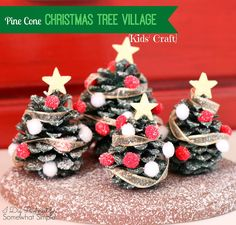 You will love these Pinecone Christmas Ornaments and we have so many for you to make. Check out all the wonderful ideas now and Pin your favourites.