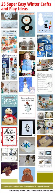 Top 10 Winter Books and 25 Handpicked Winter Crafts You Will Love