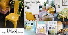 IFD2Cadeira em metal moldado da coleção industrial + inspiração decorpinterest.com/ifd2#ifd2 #chair #cadeira #factory #yellow#details #inspiration #decor #decoration#homedecor #collage #design #colors#references #style