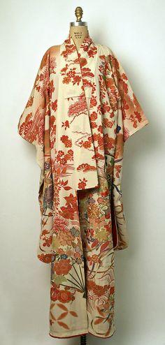 20th century/ Japanese silk kimono