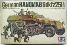 TAMM120 1:35 Tamiya Hanomag SdKfz 251/1