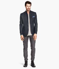 H&M- dark gray pants