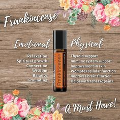 oil for thyroid Frankincense - Known as the King of All Oils! Frankincense - Known as the King of All Oils! Frankincense Essential Oil Uses, Essential Oils For Thyroid, Doterra Frankincense, Doterra Essential Oils, Dyi, Love Oil, King, Brain, Doterra Recipes