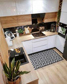 Kitchen Room Design, Home Room Design, Home Decor Kitchen, Interior Design Kitchen, New Kitchen, Home Kitchens, Kitchen Ideas, Kitchen Island, Sweet Home