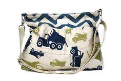 Limited Edition Trucks Diaper Bag   Stroller by PreciousLittleTot