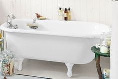 A claw foot tub. I know I need one.
