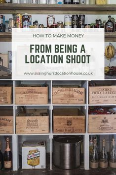 Tips and tricks of making money from renting out your home as a shoot location for photo, tv and film shoots. Country House Interior, Country Homes, Pantry Inspiration, How To Make Money, How To Become, Council House, Join Instagram, London Property, Airbnb Host