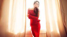 The Red Dress - Model: Zoya Grinberg