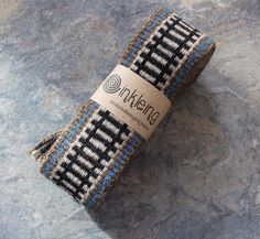 Inkle tessitura medievale Trim tessuto Inkle Band cappello