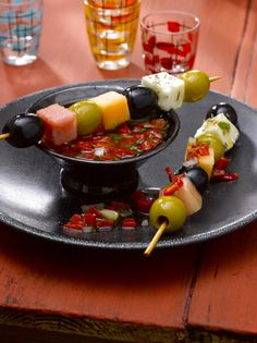 Brochette d'olives de la casa  ©Ph. Asset