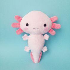 Axolotl plush toy