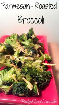 Parmesan – Roasted Broccoli Recipe