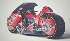 This Akira Motorcycle Concept by James Qiu Is Fire - Asphalt & Rubber Motorcycle Icon, Futuristic Motorcycle, Motorcycle Touring, Motorcycle Quotes, Kaneda Bike, Akira Manga, Concept Motorcycles, Triumph Motorcycles, Custom Motorcycles
