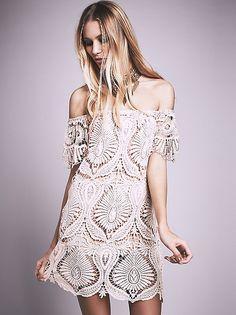 Sagrada Dress   Blush #FreePeople #CruiseAttire