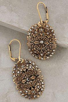Anthropologie - Filigree Discus Earrings  #anthrofave