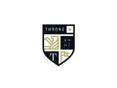 Logo concept for Throne Couture. A clothing line. Logo Branding, Branding Design, Type Logo, 10 Logo, Logo Minimalista, Soccer Logo, Crest Logo, Seal Design, Shield Logo