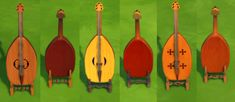 Mod The Sims - Vielle (Medieval Violin)
