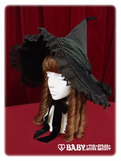 BTSSB Witch Hat, Black « Lace Market: Lolita Fashion Sales and Auctions