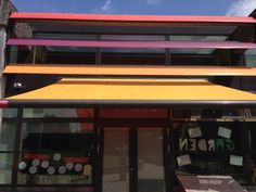 Fixed Louvres and Warema #Awning fitted to School in South London