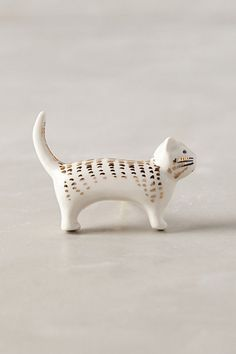 Adorable kitty drawer pull #anthroregistry