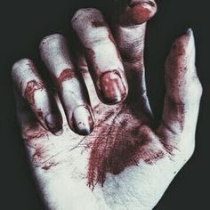 Your blood on my fingers. Of Wolf And Man, Flotsam And Jetsam, Freddy S, Fingers, Blood, Aesthetics, Characters, Satanic Art, Angels And Demons
