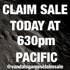 vandalsgames: Claim sale in less than 2 hours! @vandalsgamesclaimsale @vandalsgamesclaimsale  TAGS: #vandalsgames #xbox #xboxone #xbox360 #ps1 #ps2 #ps3 #ps4 #playstation #nintendo64 #supernintendo #n64 #snes #wii #wiiu #3ds #psvita #psp #nintendo #sega #genesis #gamegear #dreamcast #ds #gamecube #retrocollective #gamegear #microobbit