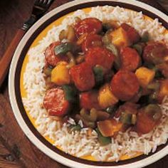Smoked Sausage Supper Recipe   Taste of Home Recipes