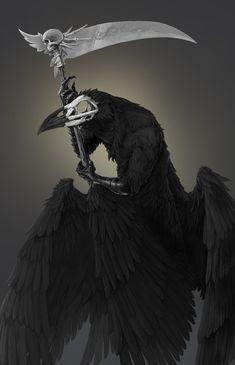 ArtStation - Raven Death, Aldebaran Dobrica