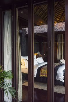A visit to the Bulgari Resort Bali overlooking the Indian Ocean with five star luxury accommodations in one of the most exclusive destinations in the world. Bulgari Resort Bali, Zen Living Rooms, Luxury Accommodation, Outdoor Furniture, Outdoor Decor, Relax, Stony, Nirvana, Bedrooms
