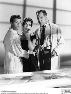 "Darryl Hickman, Pamela Lincoln & Vincent Price in ""The Tingler,"" dir. by William Castle (1959)."