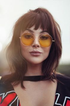 Images of Medium Length Haircuts with Bangs Medium Haircuts With Bangs, Short Hair With Bangs, Medium Hair Cuts, Hairstyles With Bangs, Medium Hair Styles, Curly Hair Styles, Shoulder Length Hair Bangs, Wispy Bangs, Pelo Midi