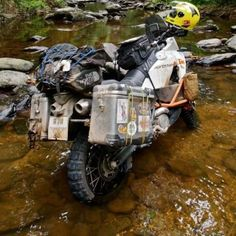 #KTM Adventure in the river