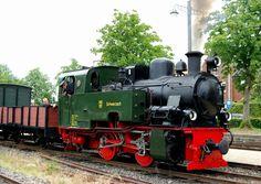 Dampflok 101 Schwarzach, Bj. 1949, Hersteller Lokomotivfabrik Krauss-Maffei München, bei der Selfkantbahn seit 2002. (Aufnahme 13.06.2011)