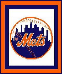 CitiUSA - New York Mets Logo Crochet Afghan Graph Pattern DOWNLOAD, $5.95 (http://www.citiusa.com/new-york-mets-logo-crochet-afghan-graph-pattern-download/)