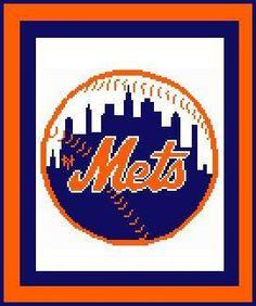 CitiUSA - New York Mets Logo Crochet Afghan Graph Pattern DOWNLOAD, $5.95 (http://www.citiusa.com/new-york-mets-logo-crochet-afghan-graph-pattern-download/)