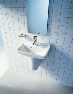Cloakroom Basins : Starck 3 Handrinse Basin & Semi Pedestal