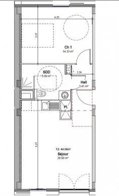plan appartement sur mesure