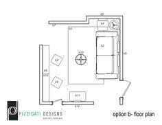 Eco Friendly Interior Design- Option B- Boys Playroom Floor Plan... #interiordesign #ecofriendly #boysroom #playroom #DIY #NYC www.pizzigatidesigns.com