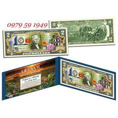 Bán tiền 2 USD In Hình Việt Nam « Shop tiền chuyên mua bán trao đổi các loại tiền