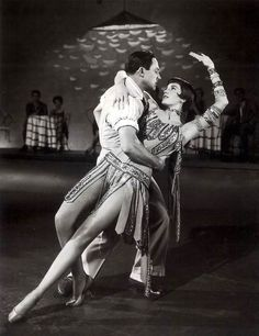Gene Kelly and Cyd Charisse.  FAVORITE part of Broadway Melody.  LOVe LOVE Love it!
