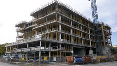 construction of building in london