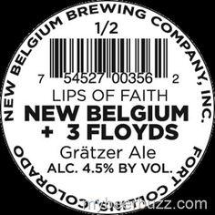 mybeerbuzz.com - Bringing Good Beers & Good People Together...: New Belgium Lips of Faith Gratzer & Hop Kitchen # ...