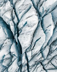 Textures and shapes of Glacier in Greenland and Iceland. Aerial photography project by Tom Hegen. Photography Projects, Aerial Photography, Landscape Photography, Nature Photography, Snow Texture, X Project, Sketch Inspiration, Color Inspiration, Simple Pictures