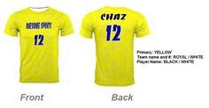 Budget friendly custom jersey | Spectrum sublimation Crew neck On fire