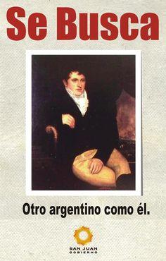 SE BUSCA. Otro argentino como él. Un 20 de junio como hoy, pero de 1820, Manuel José Joaquín del Corazón de Jesús Belgrano partía a cobijarse entre los colores de la bandera que él había creado. Hoy, 193 años más tarde, Argentina sigue necesitando millones de argentinos como él. Tal vez más que nunca.