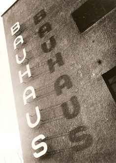 I love these old pictures of the original Bauhaus