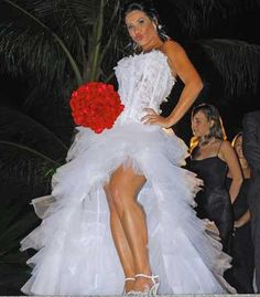 SHEYLA OLIVEIRA alta costura: Vestido de Noiva Curto